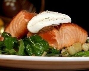 Wild salmon and watercress salad recipe